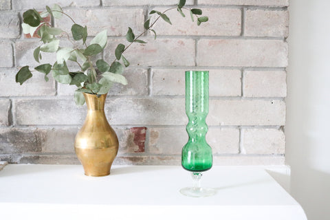 Bottle Green Vase