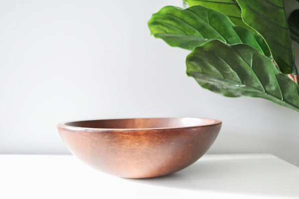 Vintage Wood Bowl Set