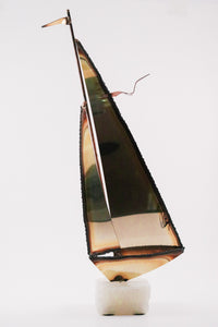 Brass Sailboat (Vintage)