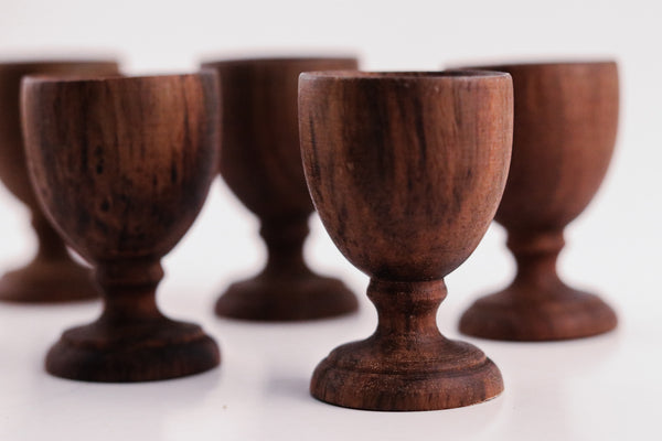 Wood Egg Cups