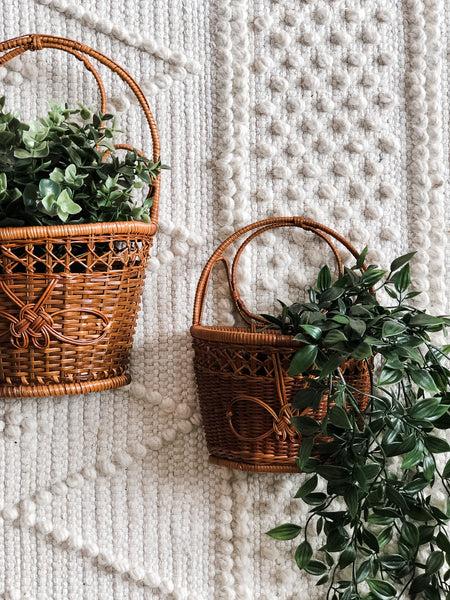 Wicker Basket Set (2pc)