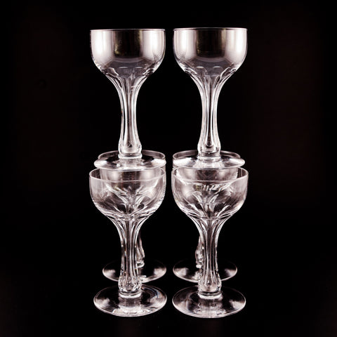 Crystal Cocktail Glasses