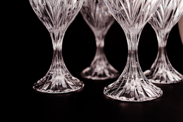 Crystal Wine Glasses (Rare Vintage)