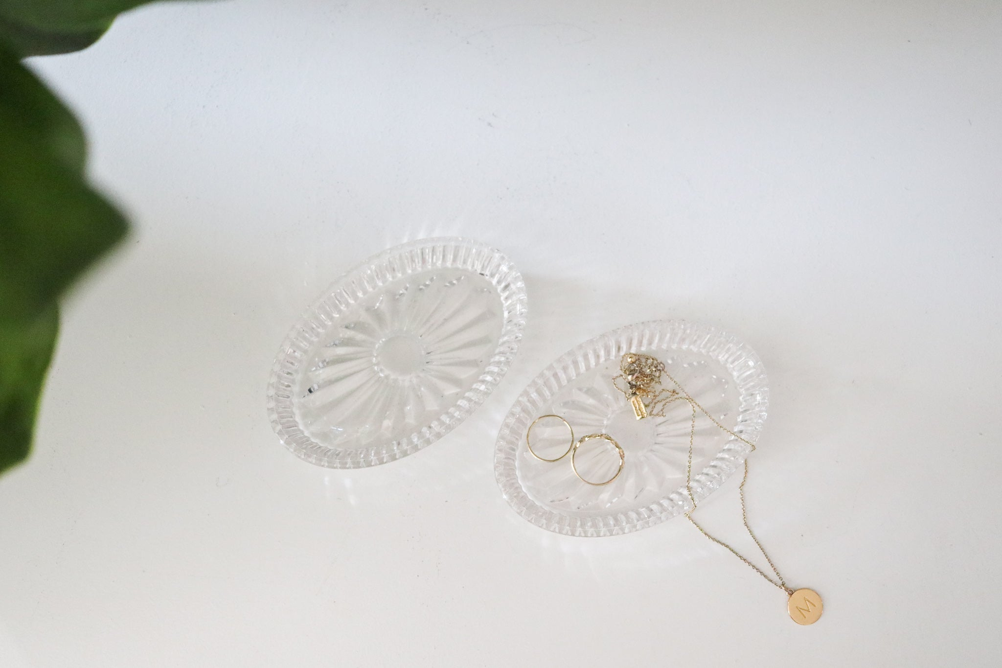 Crystal Jewelry Dish Set