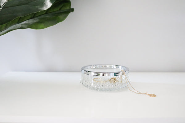 Crystal Jewelry Dish