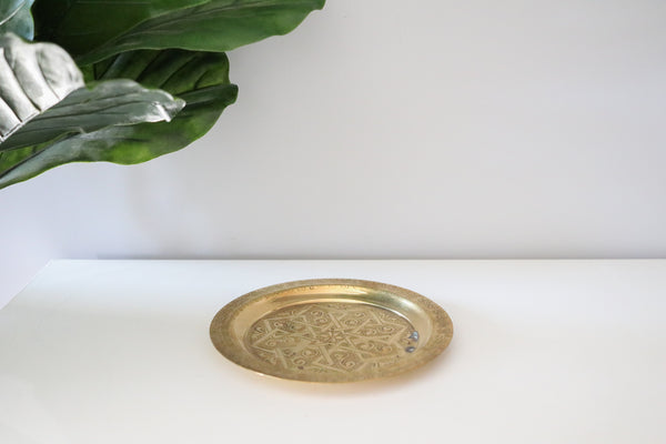 Brass Jewelry Tray