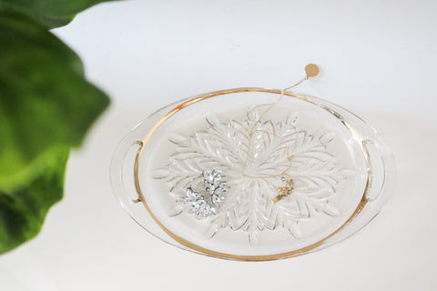 Crystal Jewelry Tray