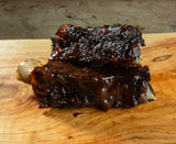 Whiskey Glazed Beef Ribs