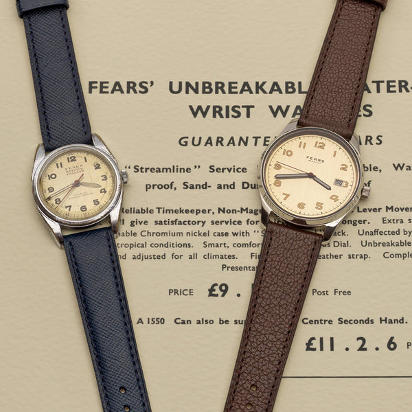 "Fears Watches - British Watches - Fears Redcliff ""Streamline"""