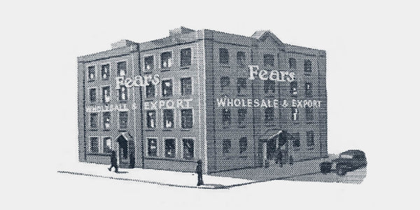 Fears Watches - British Watches - Brunswick Square offices and warehouse, circa 1920s