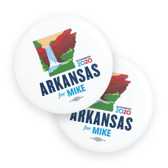 Arkansas For Mike Buttons (Pack Of Two!)