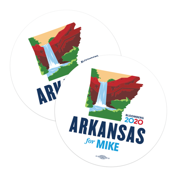 Arkansas For Mike Stickers (Pack of Two!)