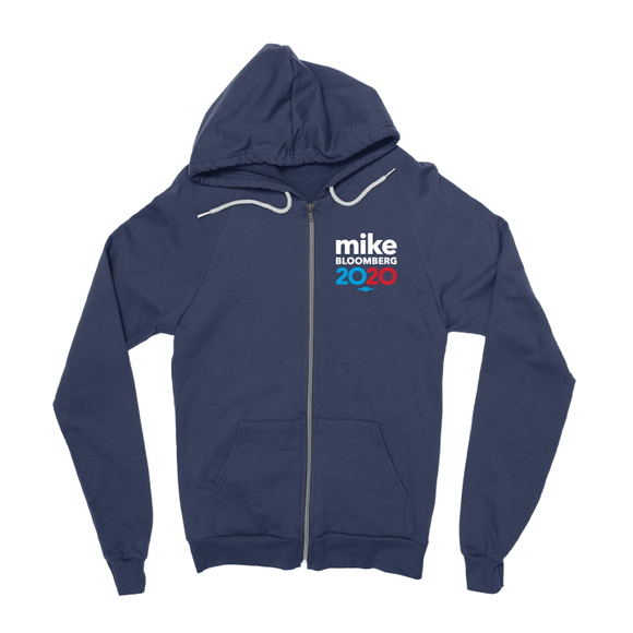 Mike Bloomberg 2020 Zipper Hoodie (Navy)