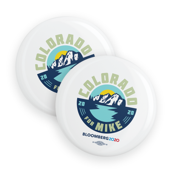 Colorado For Mike Buttons (Pack Of Two!)