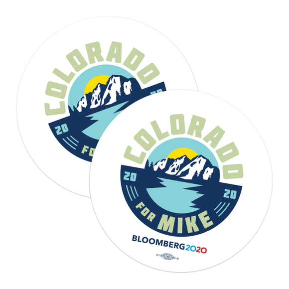 Colorado For Mike Stickers (Pack of Two!)