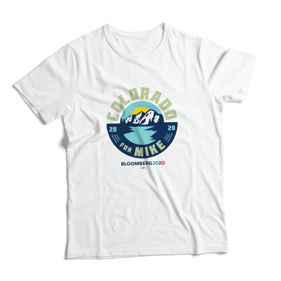 Colorado For Mike Tee (Unisex White)