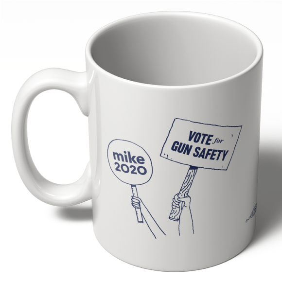 Vote For Gun Safety Mug (11oz.)