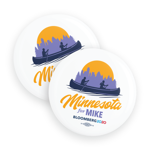 Minnesota For Mike Buttons (Pack Of Two!)
