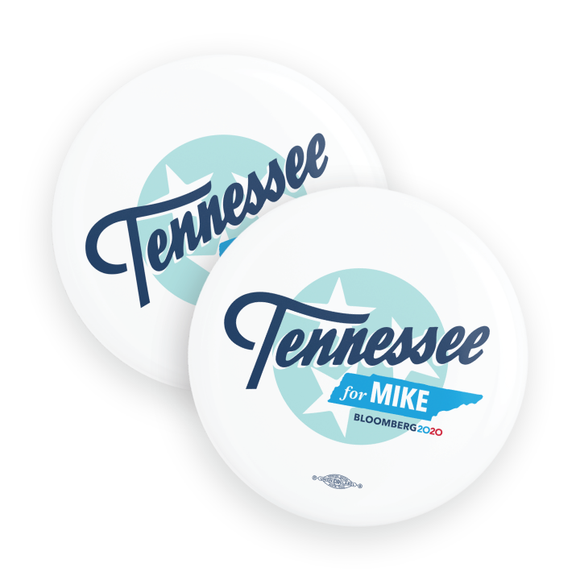 Tennessee For Mike Buttons (Pack Of Two!)