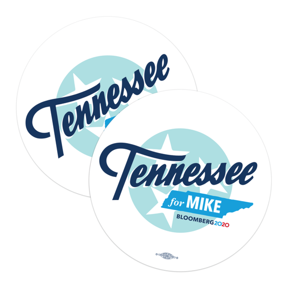 Tennessee For Mike Stickers (Pack of Two!)