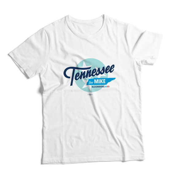 Tennessee For Mike Tee (Unisex White)