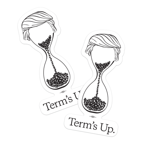 Term's Up Stickers (Pack of Two!)