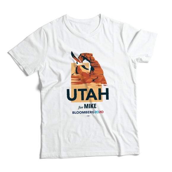 Utah For Mike Tee (Unisex White)