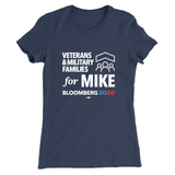 Veterans & Military Families For Mike Tee (Unisex & Women's Navy)