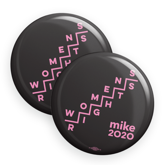 Women's Rights Buttons in Matte (Pack Of Two!)