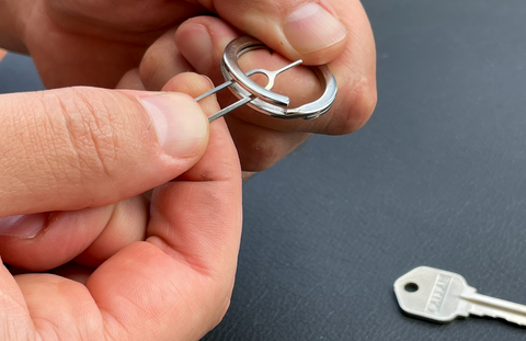 tool to open keyring