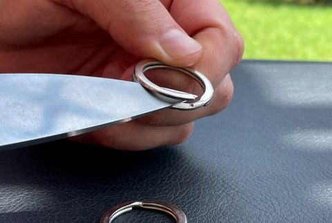 how to open keyring