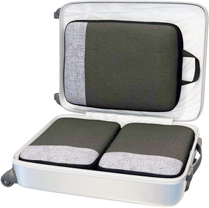 Packing Cubes Set for Suitcases Luggage Organizer Weekender Travel Essentials Classic & Elegant Design Gift Choice