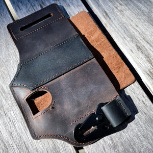 EDC Belt Leather Pouch