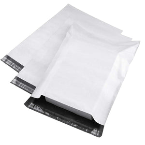 "10x13"" White Poly Mailers 100-pack"