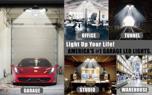 AMERICA'S #1 GARAGE DEFORMABLE LAMP 6000lm 60W
