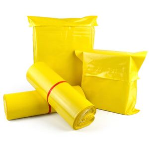 "10x13"" Yellow Poly Mailers 100-pack"