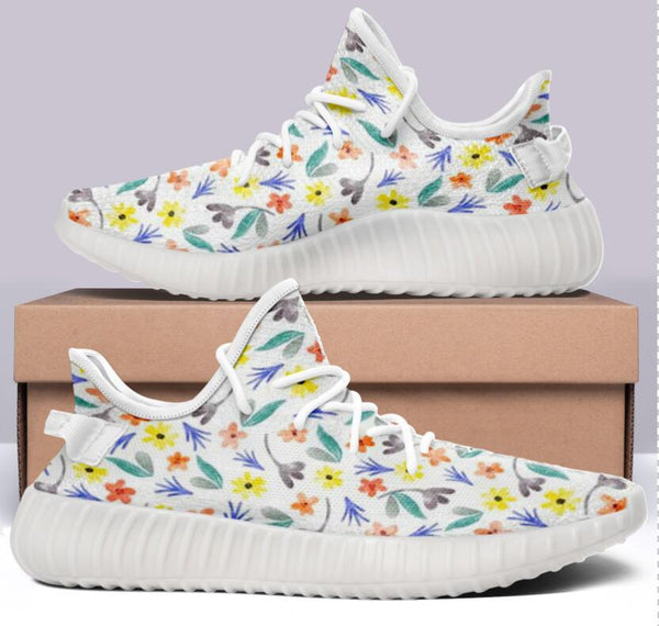 Ines Flower Design 350 V2 Style Commissioned Trainers