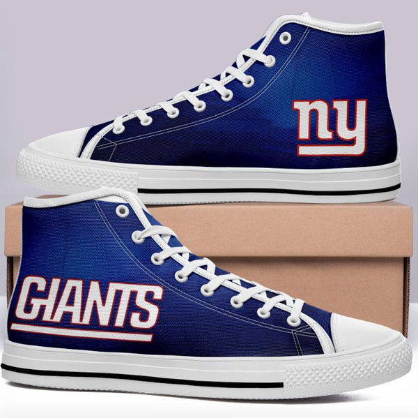 New York Giants Home Blue High Cut Style NFL Trainers