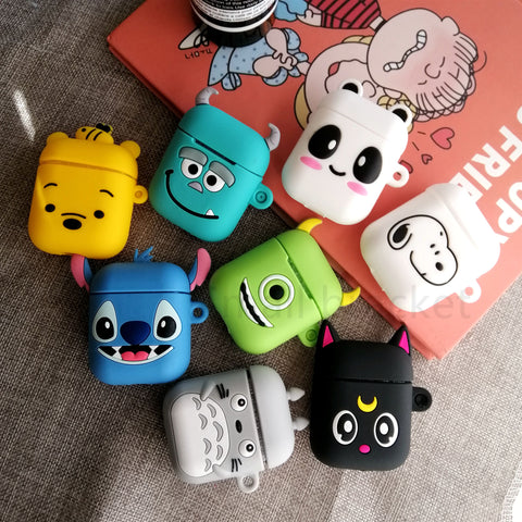 Cartoon Hero Apple Airpods Protective Case