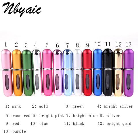 Refillable Mini Travel Perfume Bottles