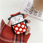 Cartoon Character Silicone Apple Airpod Case