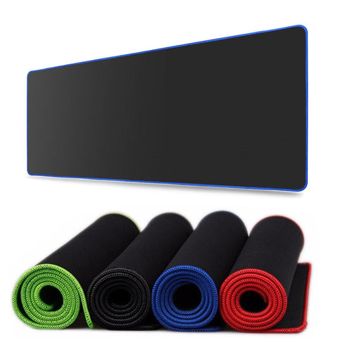 Multi Color Edge Large Mouse Pad