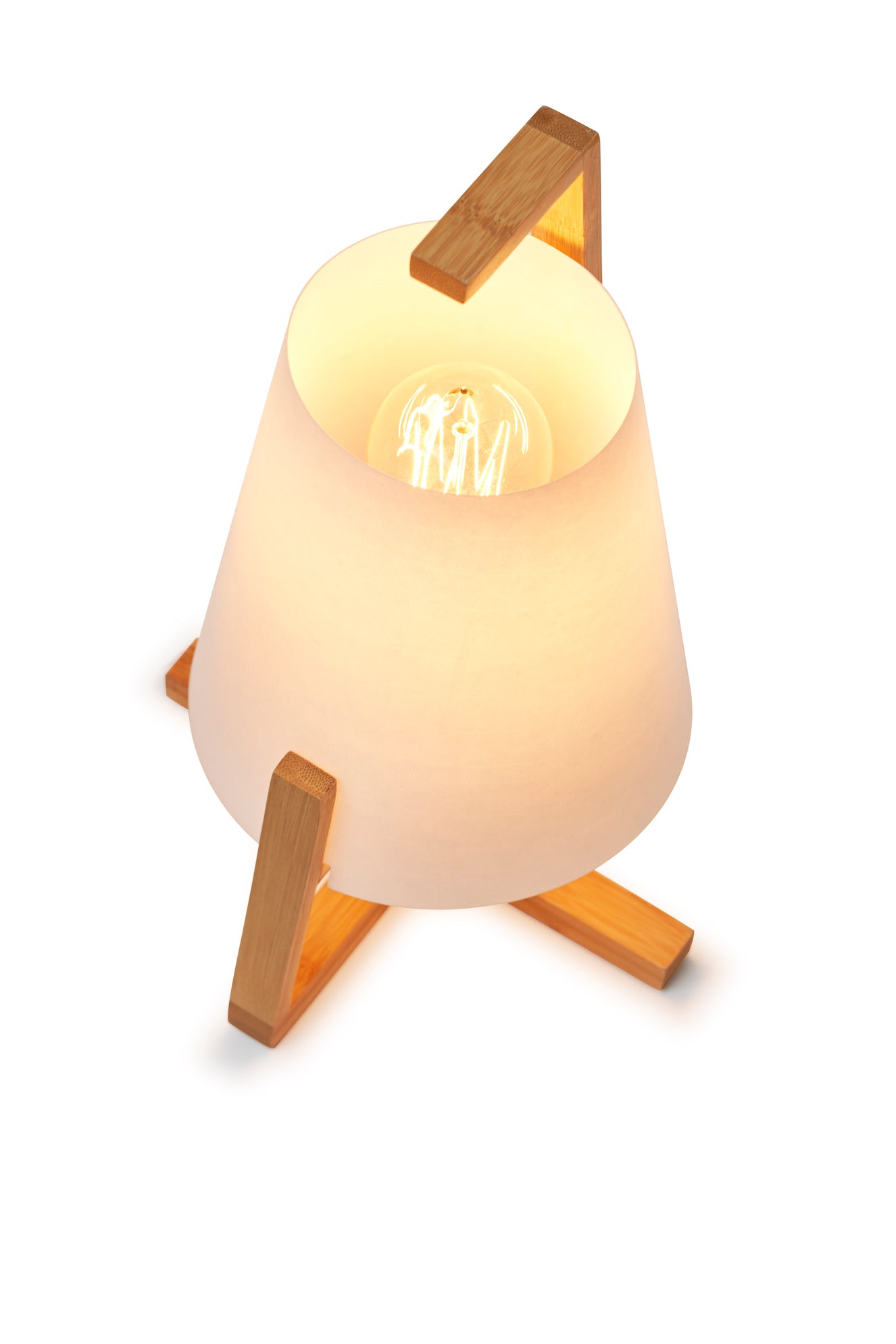 Table Lamp Bamboo Short