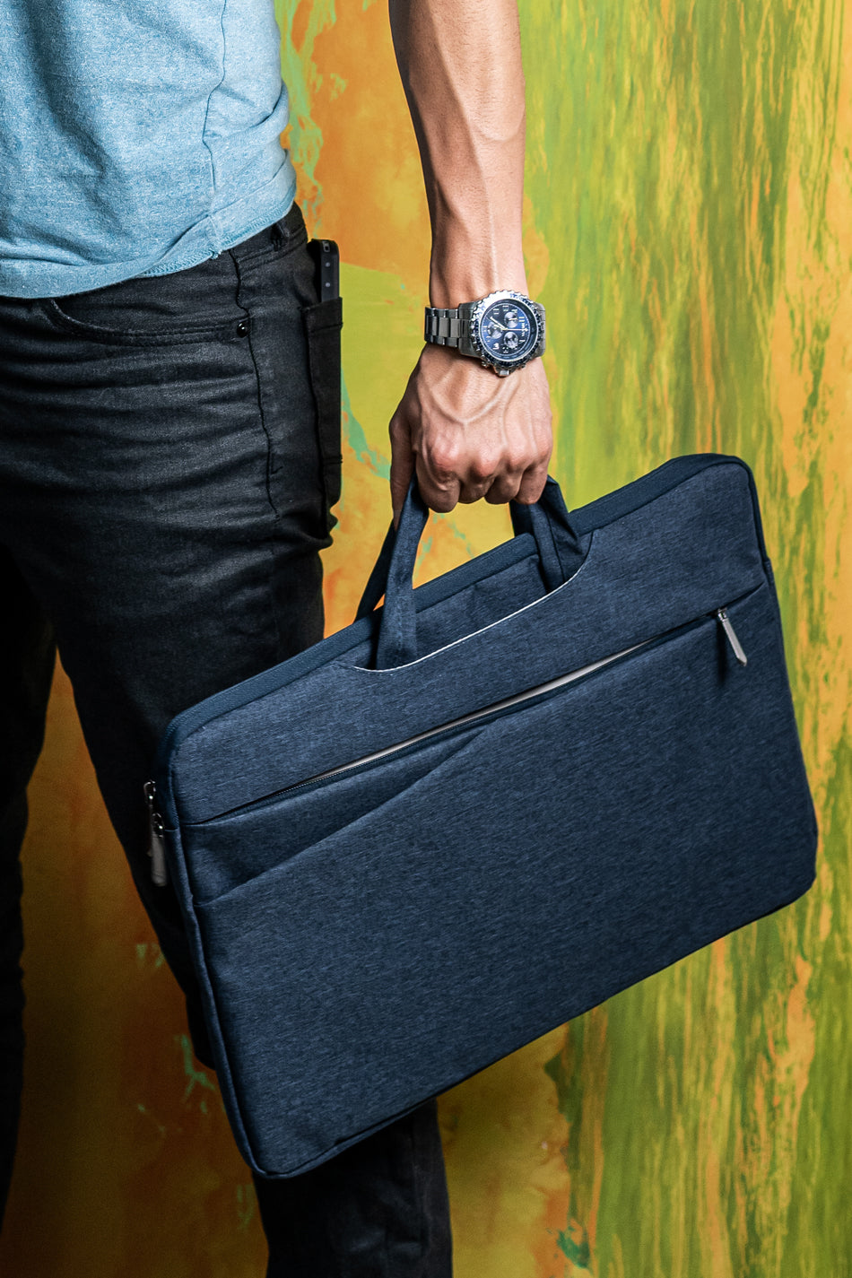 Laptop Case Navy 17""