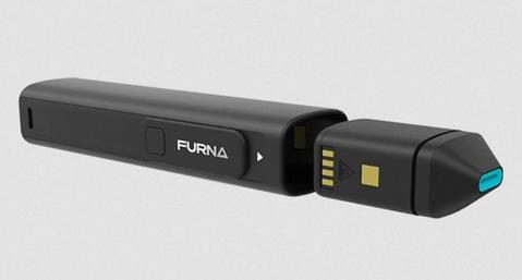 Furna dry herb vaporizer with removable oven.