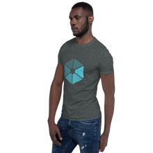 Load image into Gallery viewer, Blue Fade Short-Sleeve (Unisex)