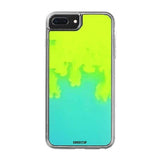 iPhone 7 Plus Neon Sand Glow Case