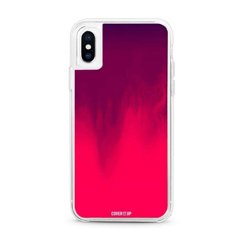 Berry Pink Neon Sand Glow Case