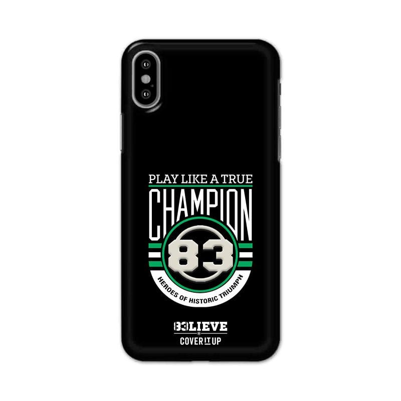 Official 83 True Champion Real 3D case