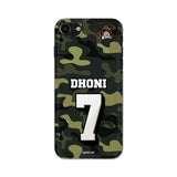 Official Chennai Super Kings Dhoni Camouflage iPhone 7 3D Case